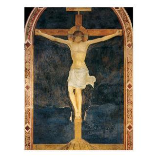 Cartão Postal O Fra Angelico- Crucified o cristo
