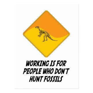 Cartão Postal O funcionamento é para as pessoas que não caçam