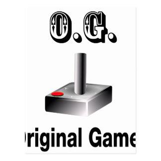 Cartão Postal O.G. Gamer original