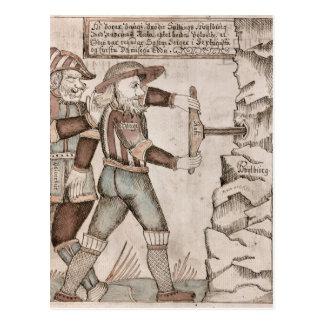 Cartão Postal O gigante Baugi, persuadido por Odin