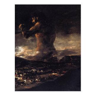 Cartão Postal O gigante (ou o colosso), por Francisco Goya 180