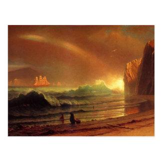 Cartão Postal O Golden Gate por Albert Bierstadt