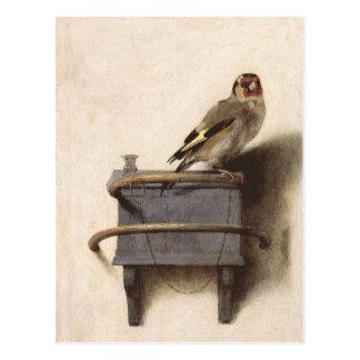 Cartão Postal O Goldfinch