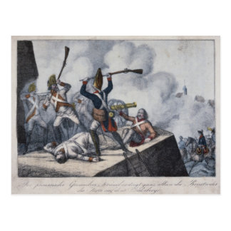 Cartão Postal O granadeiro prussiano
