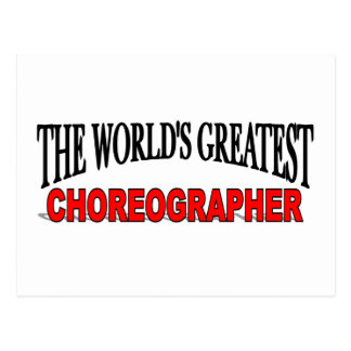 Cartão Postal O grande coreógrafo do mundo