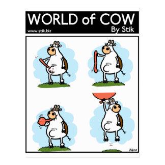 Cartão Postal O grande escape (por uma vaca)