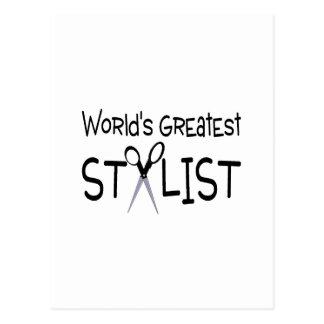 Cartão Postal O grande estilista dos mundos