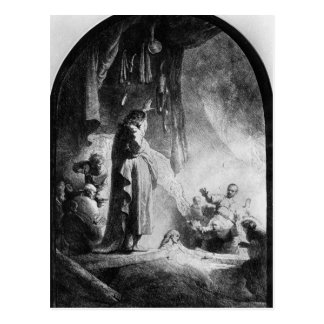 Cartão Postal O grande levantamento de Lazarus