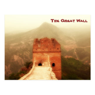 Cartão Postal O Grande Muralha