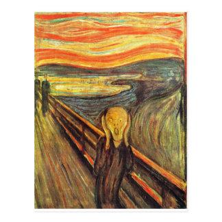 Cartão Postal O gritar - Edvard Munch