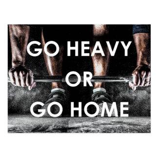 Cartão Postal O Gym torna mais pesada a malhação do treinamento