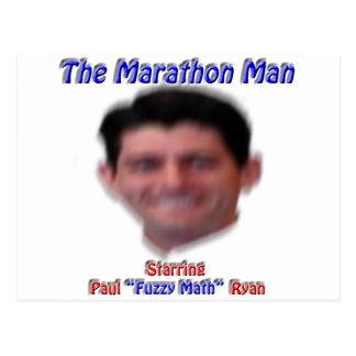Cartão Postal O homem da maratona