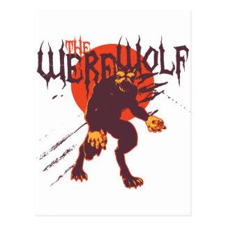 Cartão Postal O homem-lobo: Lycan