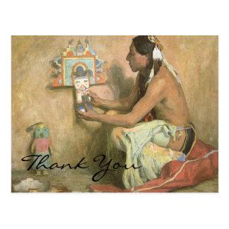 Cartão Postal O Hopi Katchina de Couse