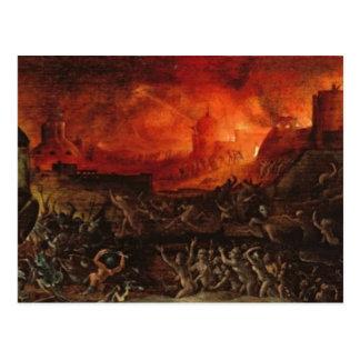 Cartão Postal O horroroso do inferno