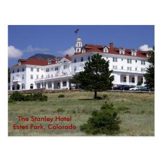 Cartão Postal O hotel de Stanley