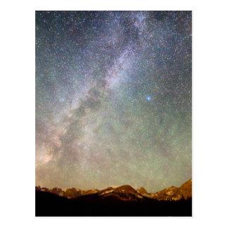 Cartão Postal O indiano repica a Via Láctea