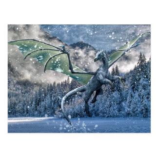 Cartão Postal O inverno está aqui