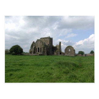 Cartão Postal O irlandês da abadia de Ireland Hore arruina a