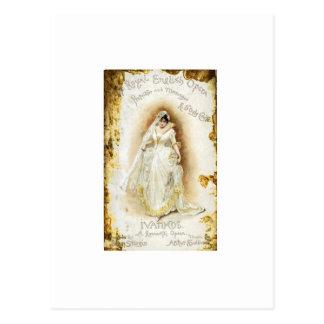 Cartão Postal O Ivanhoe da ópera inglesa real
