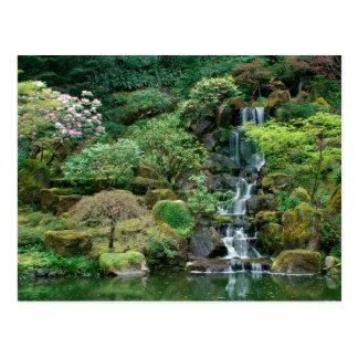 Cartão Postal O japonês jardina Portland, Oregon