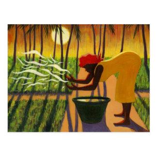 Cartão Postal O jardim 2007 do espírito