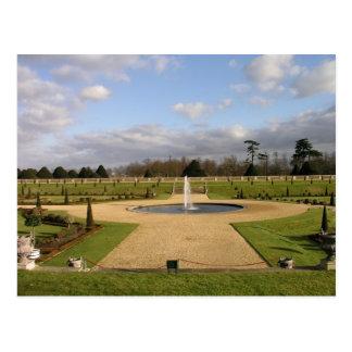 Cartão Postal O jardim ao corrente, Hampton Court, Reino Unido