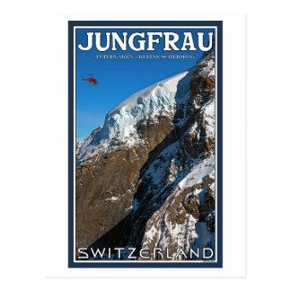 Cartão Postal O Jungfraujoch