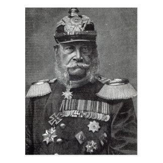 """Cartão Postal O Kaiser Wilhelm, do """"da hora lazer"""", 1888"""