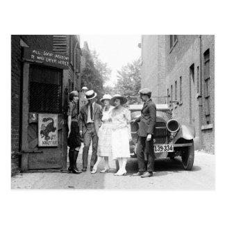 Cartão Postal O Krazy Kat Speakeasy, 1921