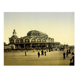 Cartão Postal O Kursaal Ostende Bélgica