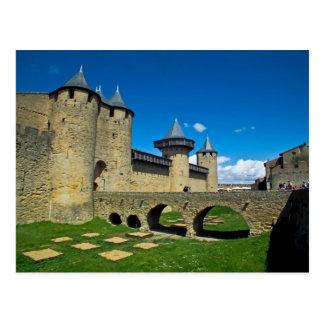 Cartão Postal O La menciona carcassonne