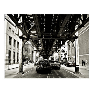 Cartão Postal O laço de Chicago
