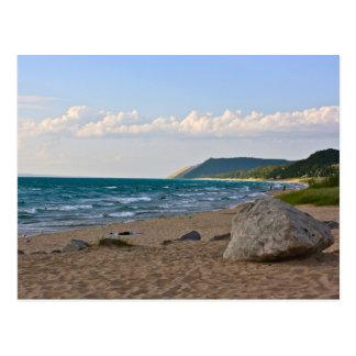 Cartão Postal O Lago Michigan