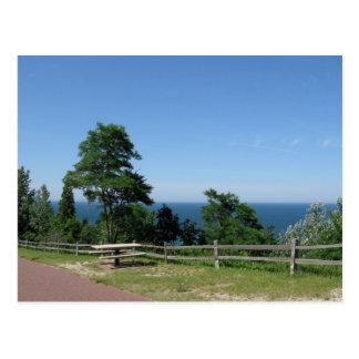 Cartão Postal O Lago Michigan do Arcadia MI
