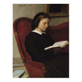 Cartão Postal O leitor, 1861