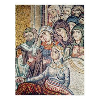 Cartão Postal O levantamento da filha de Jairus