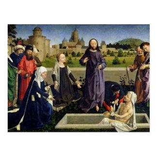Cartão Postal O levantamento de Lazarus