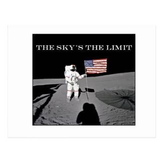Cartão Postal O limite do céu