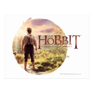 Cartão Postal O logotipo de Hobbit com BAGGINS™ suporta