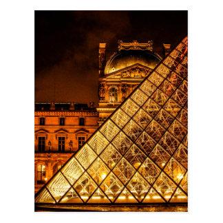 Cartão Postal O Louvre