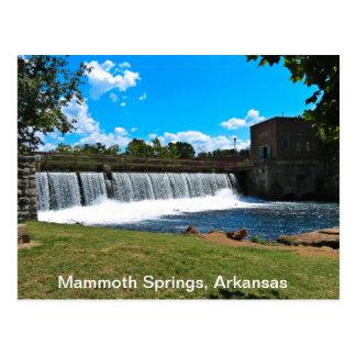 Cartão Postal O Mammoth salta Arkansas