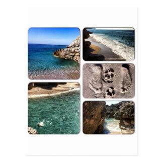 Cartão Postal O mar de adriático Albânia