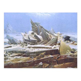 Cartão Postal O mar do gelo
