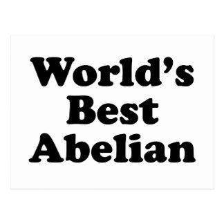 Cartão Postal O melhor Abelian do mundo