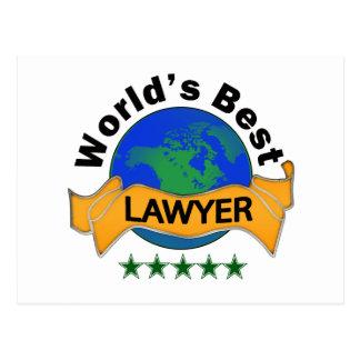 Cartão Postal O melhor advogado do mundo