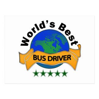 Cartão Postal O melhor condutor de autocarro do mundo