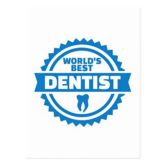 Cartão Postal O melhor dentista do mundo