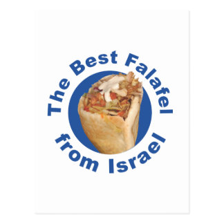 Cartão Postal O melhor falafel de Israel