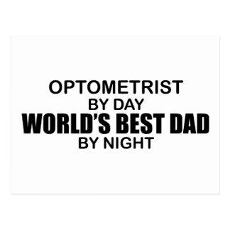 Cartão Postal O melhor pai do mundo - optometrista